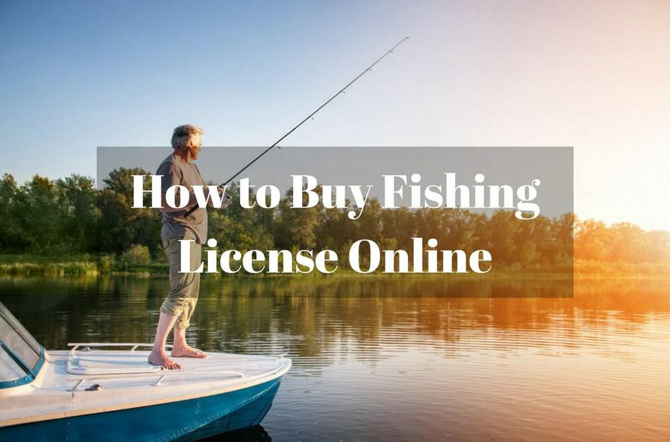 How to buy fishing license online for Buy a fishing license